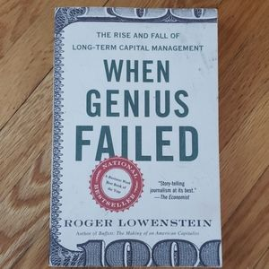 Other - When genius failed by Roger Lowenstein 2001